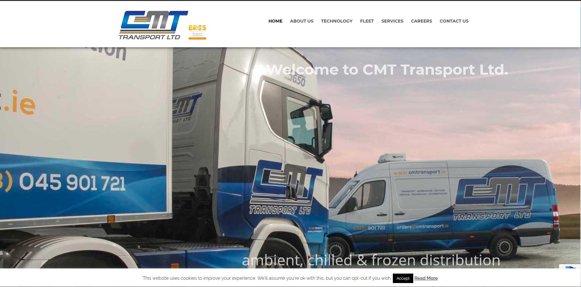 cm transport website image