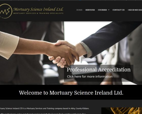 Mortuary Science Ireland