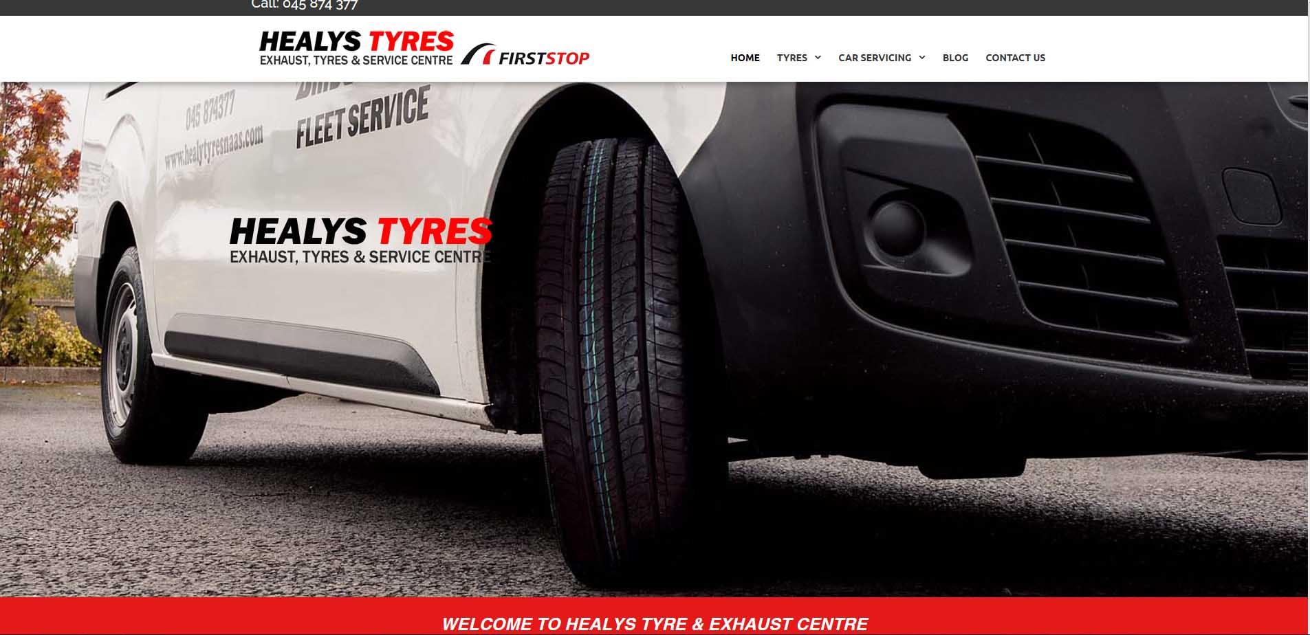 healys tyres